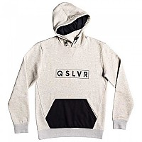 [해외]퀵실버 Big Logo Tech Hoodie Light Grey Heather