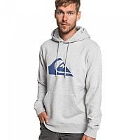[해외]퀵실버 Big Logo Hood Light Grey Heather