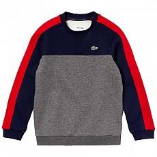 [해외]라코스테 Sport Colorblock Navy Blue / Grey / Red