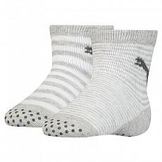 [해외]푸마 언더웨어 Baby Sock ABS 2 Pack Grey Melange