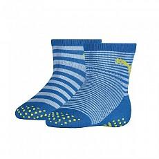 [해외]푸마 언더웨어 Baby Sock ABS 2 Pack Blue Green Combo