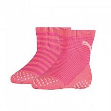 [해외]푸마 언더웨어 Baby Sock ABS 2 Pack Violet Purple Combo