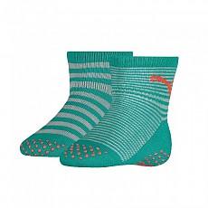 [해외]푸마 언더웨어 Baby Sock ABS 2 Pack Navigate / Peacoat