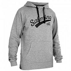 [해외]살밍 Logo Hooded Grey Melange