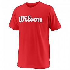 [해외]윌슨 Team Script Tech S/S Wilson Red / White