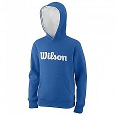 [해외]윌슨 Script Cotton Hooded New Blue / White
