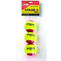 [해외]던롭 Stage 3 Polybag Yellow / Red