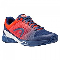 [해외]헤드 Revolt Pro 2.5 Clay Blue / Flame Orange