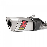 [해외]아크라포빅 머플러 Replacement Muffler M-AP00606T Silver / Black
