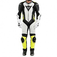 [해외]다이네즈 Laguna Seca 4 Perforated Leather White / Black / Fluo Yellow