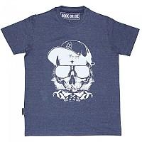[해외]ROCK OR DIE Skull Crew Navy