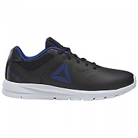 [해외]리복 Rush Runner Synthetic Black / Cobalt / White