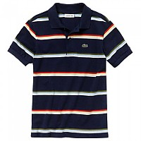 [해외]라코스테 Striped Cotton Navy Blue / Multicolor