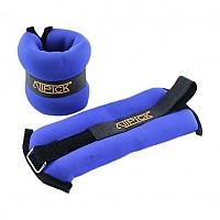 [해외]ATIPICK Neoprene Ankle Weights 2 X 1 Kg Blue