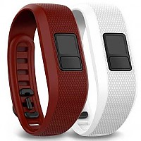 [해외]가민 Pack Bands Vivofit 3 Red / White
