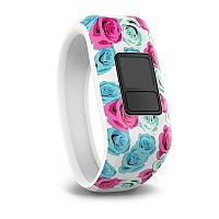 [해외]가민 Vivofit XL Band Junior Flowers