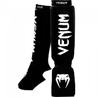 [해외]베넘 Venum Kontact Shinguards And Insteps Cotton Black