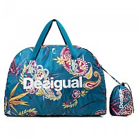 [해외]데시구알 Packable Bag Ethnic Polar Blue