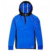 [해외]슈퍼드라이 Sports Athletic Half Zip Hood Cobalt
