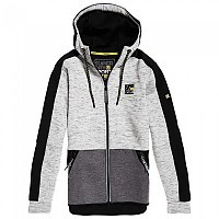 [해외]슈퍼드라이 Gymtech Colourblock Light Grey Marl / Black
