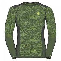 [해외]오들로 Blackcomb Evolution Warm Shirt L/S Crew Neck Odlo Graphite Grey / Safety Yellow / Safety Yellow