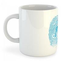 [해외]KRUSKIS Mug Biker Fingerprint White