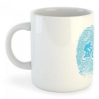 [해외]KRUSKIS Mug MTB Fingerprint White