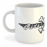 [해외]KRUSKIS Mug Ride Or Die White