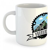 [해외]KRUSKIS Mug Freeriders White