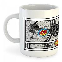 [해외]KRUSKIS Mug Comic White