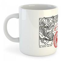 [해외]KRUSKIS Mug Topographic White