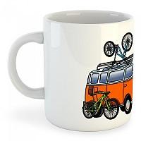 [해외]KRUSKIS Mug Hippie Van MTB White