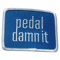 [해외]NINER Pedal Damn It Patch Blue