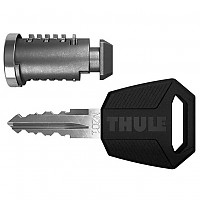 [해외]툴레 Lock With Premium Key N242 Silver / Black