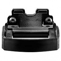 [해외]툴레 Kit 4023 Flish Railing BMW Black