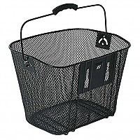 [해외]BELLELLI Basket With Removable Front Support Black