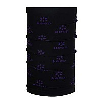 [해외]KEEP K Neck Warmer Kids Black / Purple