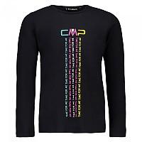 [해외]CMP Girl T-Shirt Black