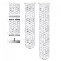 [해외]순토 Athletic 1 Silicone 스트랩 White / Steel