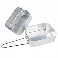 [해외]REGATTA Mess Tin Set Silver