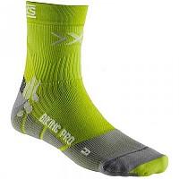 [해외]엑스 바이오닉 Biking Pro Socks Green Lime / Pearl Grey