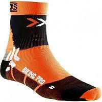 [해외]엑스 바이오닉 Biking Pro Socks Orange / Black