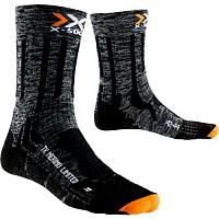 [해외]엑스 바이오닉 Trekking Merino Limited Mid Socks Grey / Black