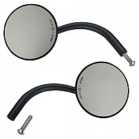 [해외]BILTWELL Utility Mirrors Round CE Perch Mount Pair Black