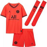 [해외]나이키 Paris Saint Germain Away Breathe Kit Little Kids 19/20 Infrared 23 / Black