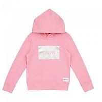 [해외]캘빈클라인 JEANS Hood And Logo Begonia Pink