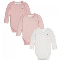 [해외]타미힐피거 KIDS Baby Rib 3 Pack Giftbox Multi02 / Pink Icing