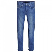 [해외]타미힐피거 KIDS Simon Skinny Fit Ville Mid Blue Stretch