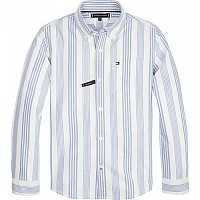 [해외]타미힐피거 KIDS Oxford Stripe Bright White / Shirt Blue
