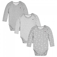 [해외]타미힐피거 KIDS Baby Rib 3 Pack Giftbox Multi03 / Grey Heather Bc-04